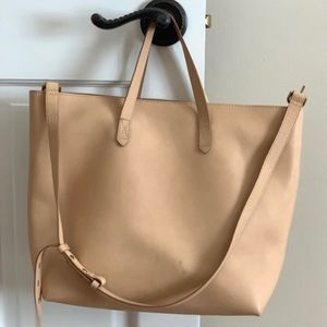 Madewell Zip Top Transfer Tote